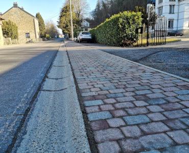 AC HAMOIR – Aménagement des trottoirs
