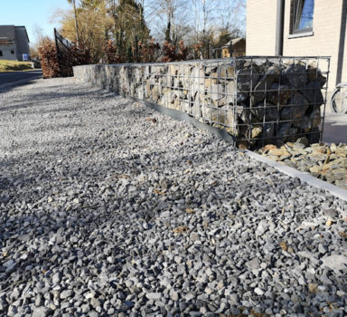 Empierrement, Gabions