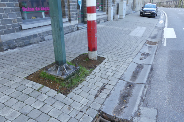 AC DURBUY – Aménagement des trottoirs à Bomal