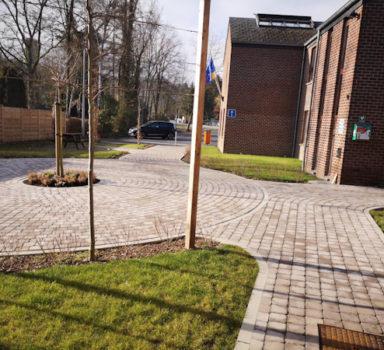 AC RENDEUX – Aménagement des abords de la maison communale