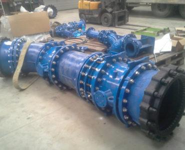ELOY – CHC Montlegia – Pose conduites d'eau Diamètre 500